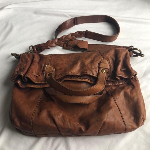 Lucky Brand Handbags - Lucky Brand Fold over messenger handbag